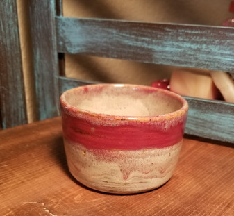 Sandy Sunset Hand Thrown Stoneware Shave Mug