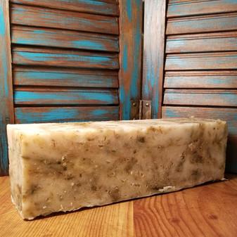 Lemongrass Natural Soap Loaf