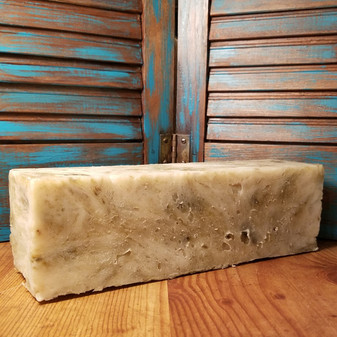 tropical paradise loaf, natural soap, natural skin care, red dirt soap, lick me all over