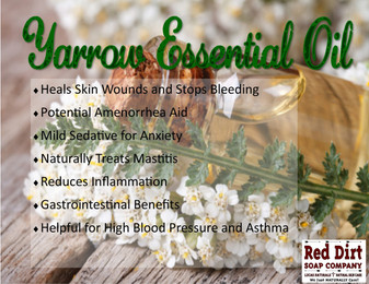 Yarrow essential oil—Red Dirt Soap Company