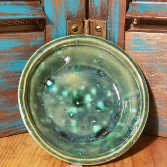 Green Jewl Soap Dish