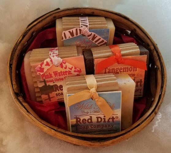 Soap Basket Set - 4 bars