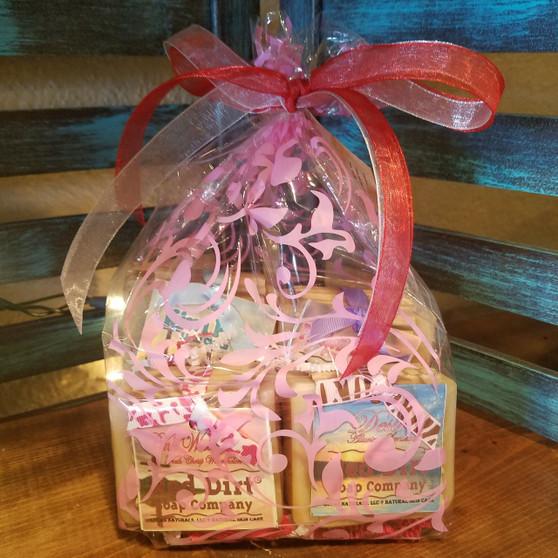 Gift Bag Soap Set - 4 bars