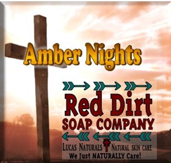 Amber Nights, citrus zest , amber woods, sugar crystals, natural soap, handmade soap, made in the usa skin care, made in the usa soap, made in Oklahoma, red dirt soap, veteran owned
