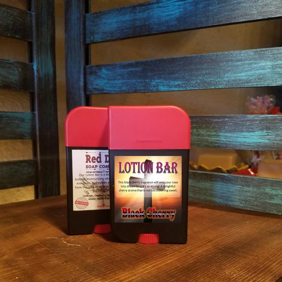 Black Cherry Lotion Bar