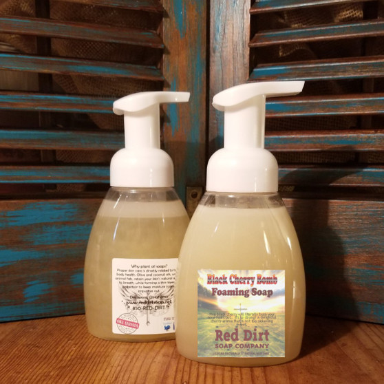 Black Cherry Natural Foaming Handsoap