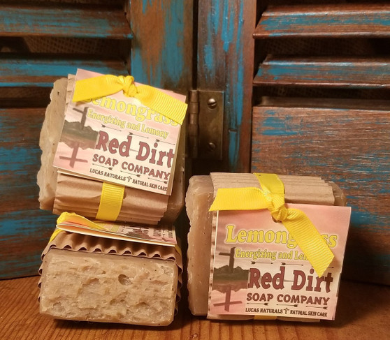 Lemongrass Natural Bar Soap