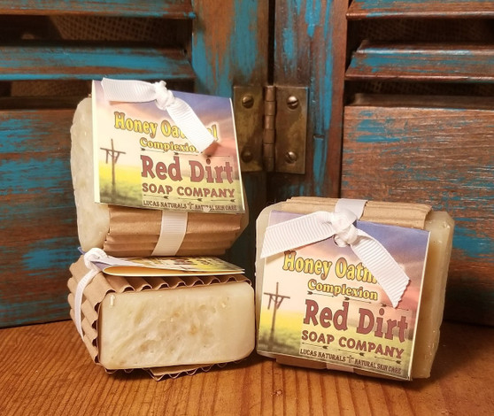 Honey Oatmeal Natural Bar Soap (Unscented)