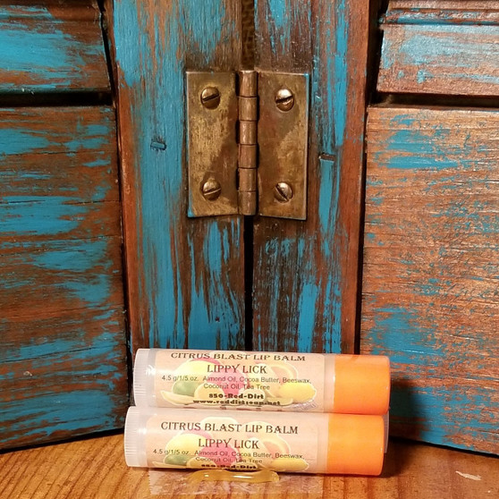Citrus Blast Natural Lippy Lick Lip Balm