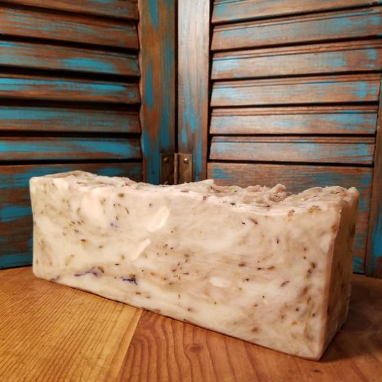 Lavender Natural Soap  Loaf