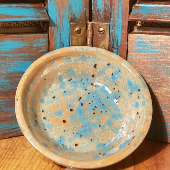 Teal Soap Dish