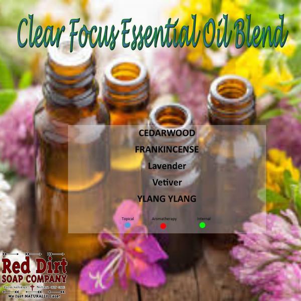 Clear Focus Essential Oil Blend (ADHD)