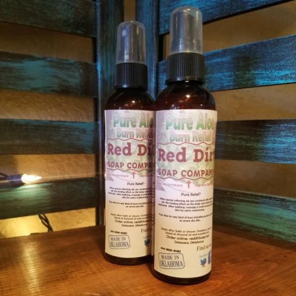 Aloe Relief Pure Concentrated Organic Aloe Spray
