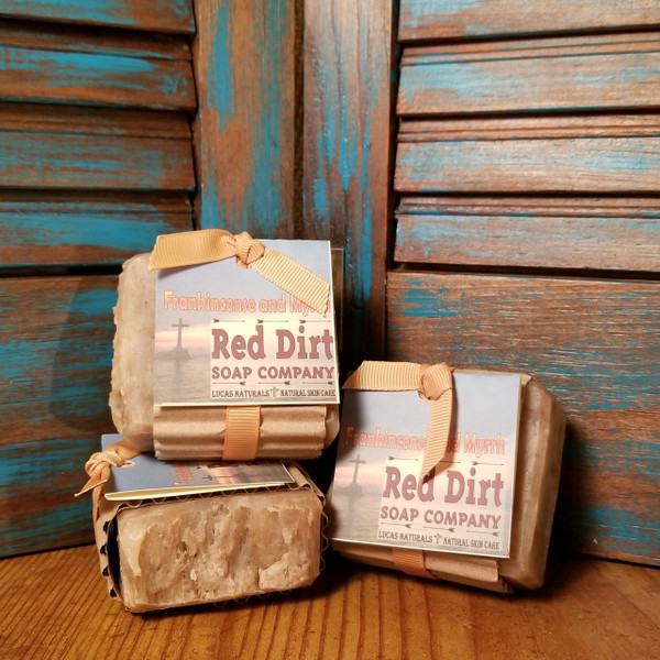 Frankincense and Myrrh Natural Bar Soap
