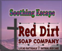 Soothing Escape Shave Bar, natural shave soap, red dirt soap company