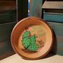 cactus, soap dish, terracotta, Jesus, red dirt soap, handmade, made in oklahoma, natural skin care
