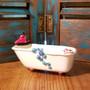 Claw Foot Bath Tub Soap Dish - Handmade in Oklahoma Tug Boat