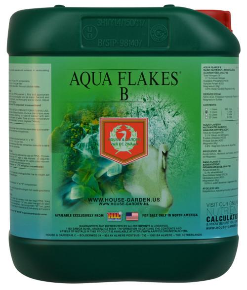 House and Garden Aqua Flakes B (5 L)