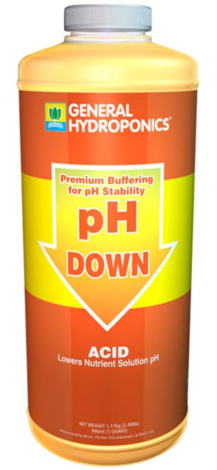 pH Down (quart) General Hydroponics