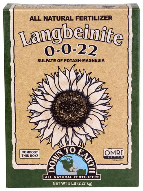 Down to Earth Langbeinite (Sul-Po-Mag) 5lb