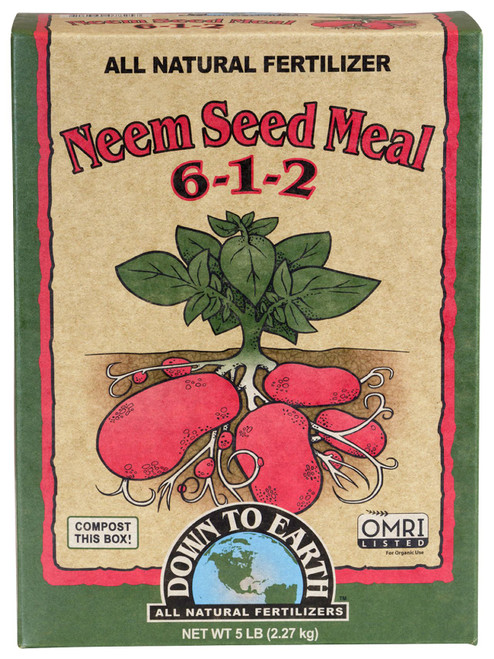 Down to Earth Neem Seed Meal- 5lb