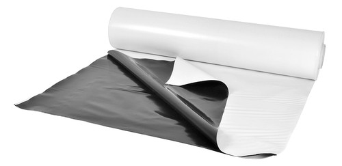 Panda Black and White Poly Film 50 x 10 ft Roll