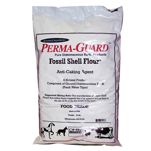 Perma Guard Diaotmaceous Earth Fossil Shell Flour 5lb
