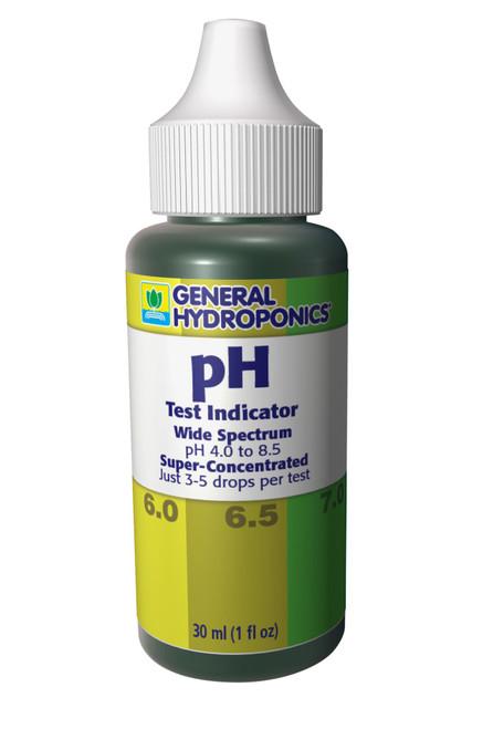 GH pH Test Kit (Manual pH Tester) 1 oz