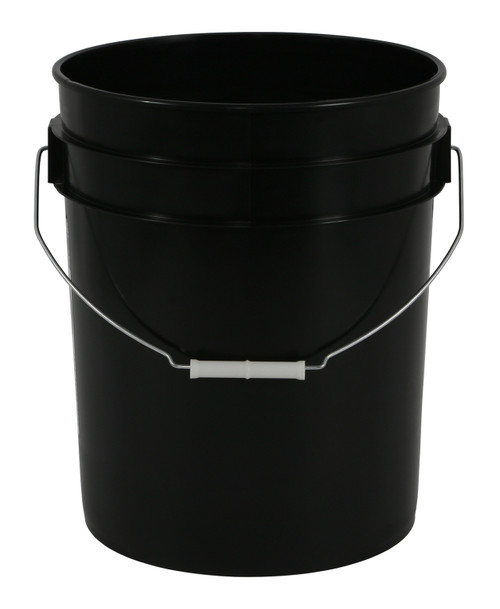 5 gallon bucket--Black