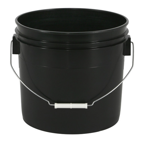 3.5 Gallon Bucket--Black