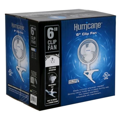 Hurricane 6 inch Clip Fan