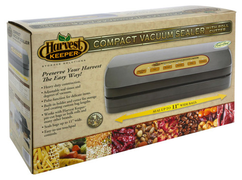 Harvest Keeper Compact Vacuum Sealer w/ Roll Cutter