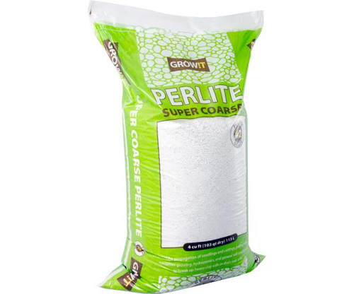 GROW!T #2 Perlite, Super Coarse, 4 cu ft