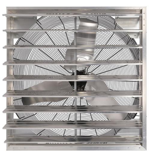Hurricane Pro Shutter Exhaust Fan 24 in