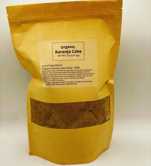 Karanja Cake Organic Fertilizer Soil Amendment (2 lb)