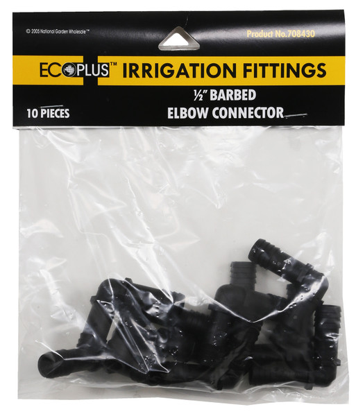 Elbow 1/2 in connector (10 pack)