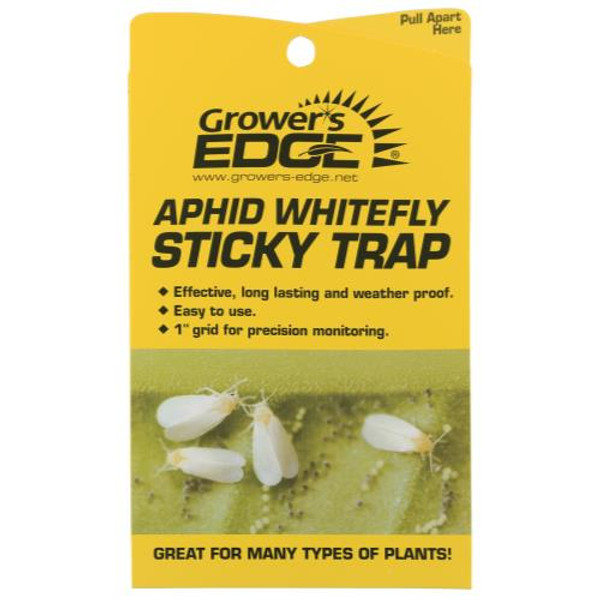Grower's Edge Aphid Whitefly Sticky Trap 5 Pack