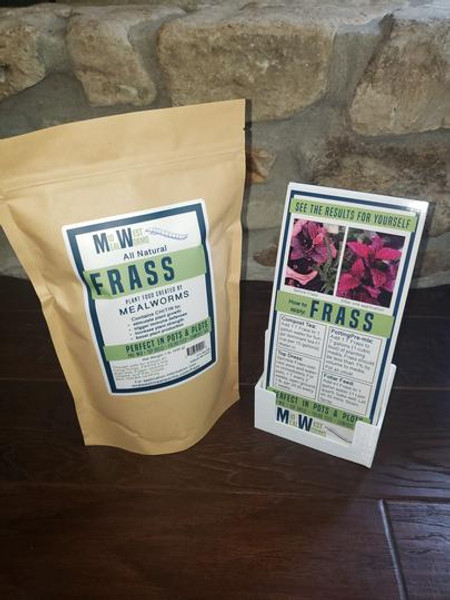 Mealworm Frass by Midwest Mealworms