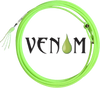 For ropers who like a smaller, faster rope, the Venom will quickly become a favorite. The Venom, also nylon and built with core construction, is a vibrant lime green.