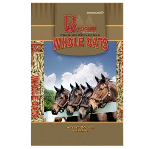 Bryant grain premium whole oats.