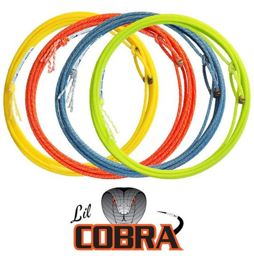 Fast Back Lil Cobra Youth Rope 1/4in x 31ft (Assorted Colors)