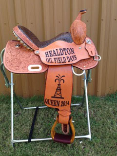 Trophy saddle by Horsemans Supply