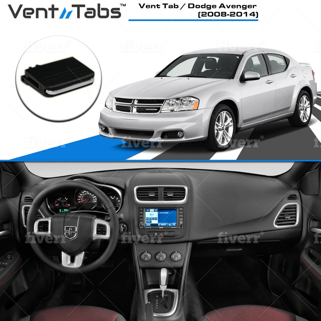 Vent Tab / Dodge Avenger 2008-2014