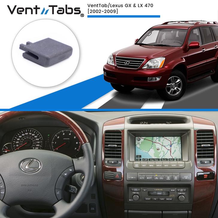 VentTabs / Lexus GX & LX 470 for AC Vent Repair
