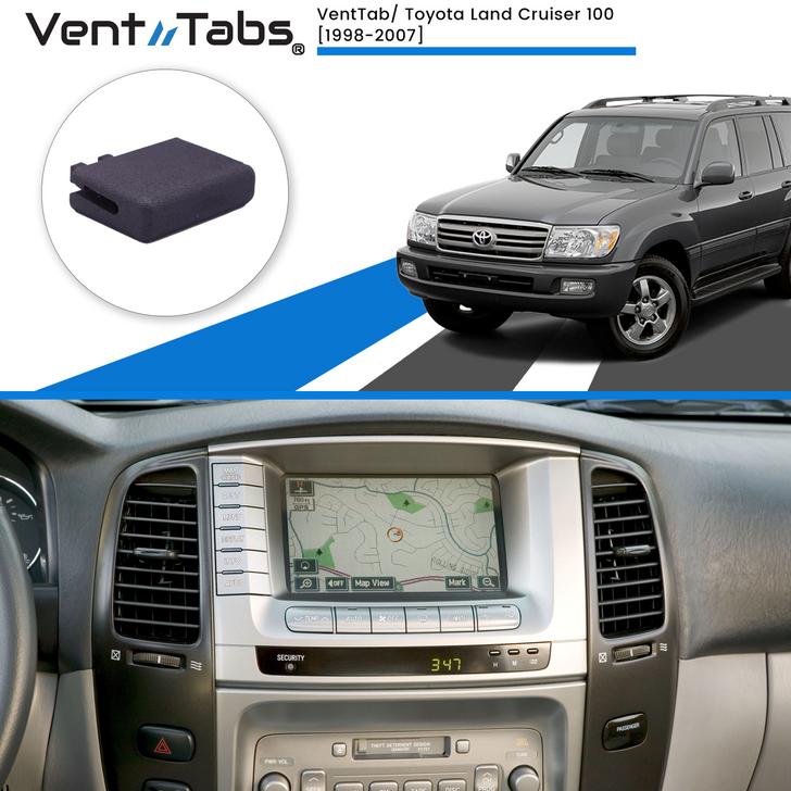 Venttabs Toyota Land Cruiser 100 1998-2007, to repair A/C Air vents