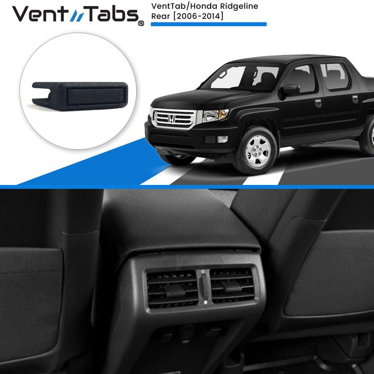 VentTabs / Honda Ridgeline 2006-2014 (Rear vents) for AC Vent Repair