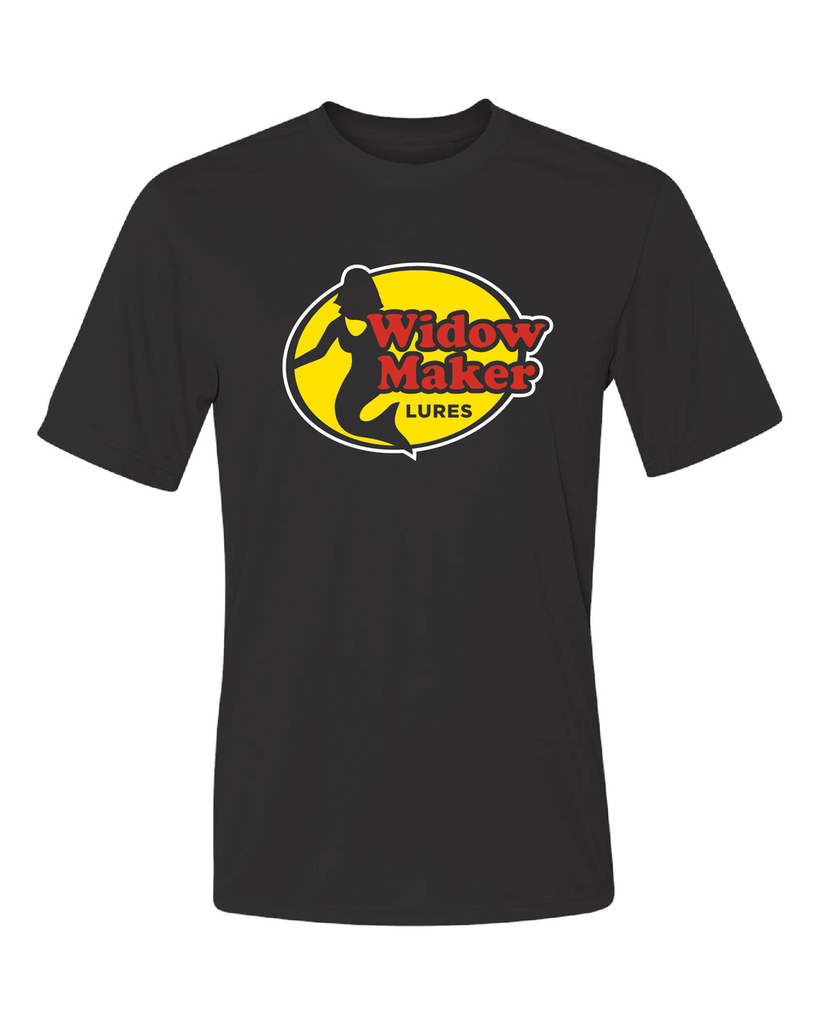 Men's Widow Maker Performance Center Logo T-Shirt