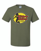 Widow Maker T Shirt - Military Green