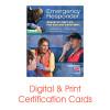 ASHI Advanced First Aid Certification Card