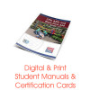 ASHI CPR AED First Aid Certification Card Student Manual